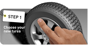 1. Choose your tyres
