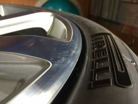 Pirelli Pzero (B) 275/35/21 on a Bentley Continental in Mobile Tyre on